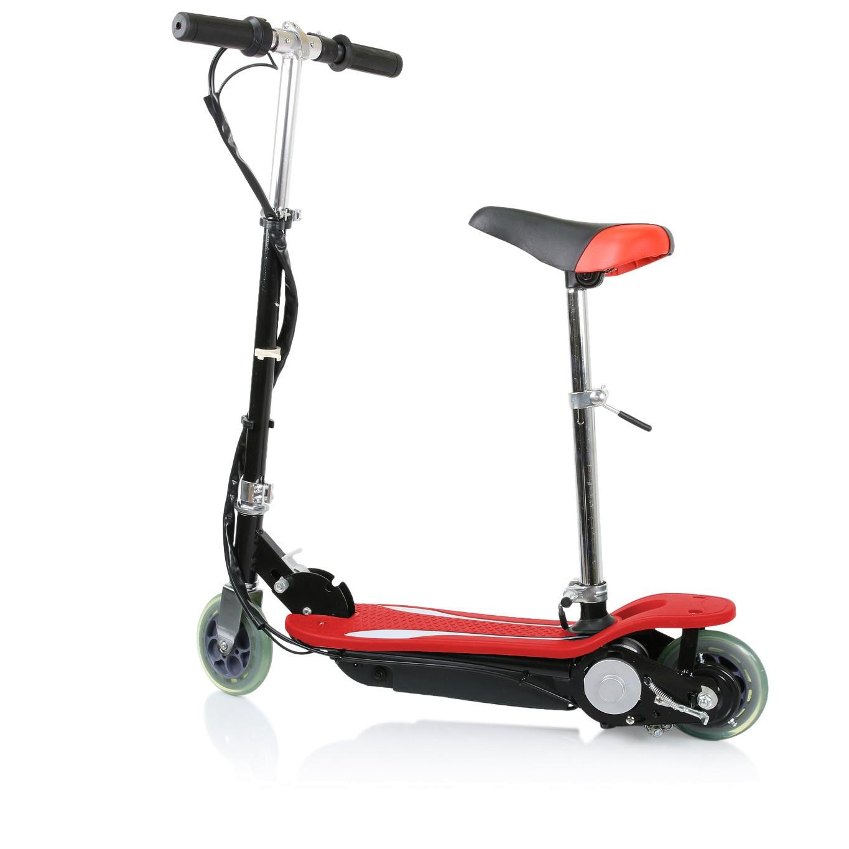 elscooter-med-sadel-rod